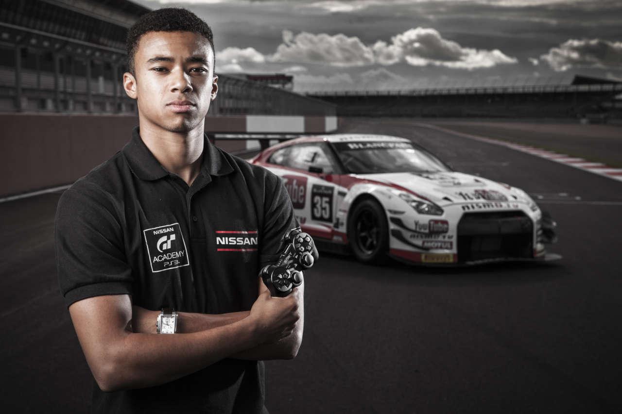 Virtual racer turned real-life pro Jann Mardenborough.