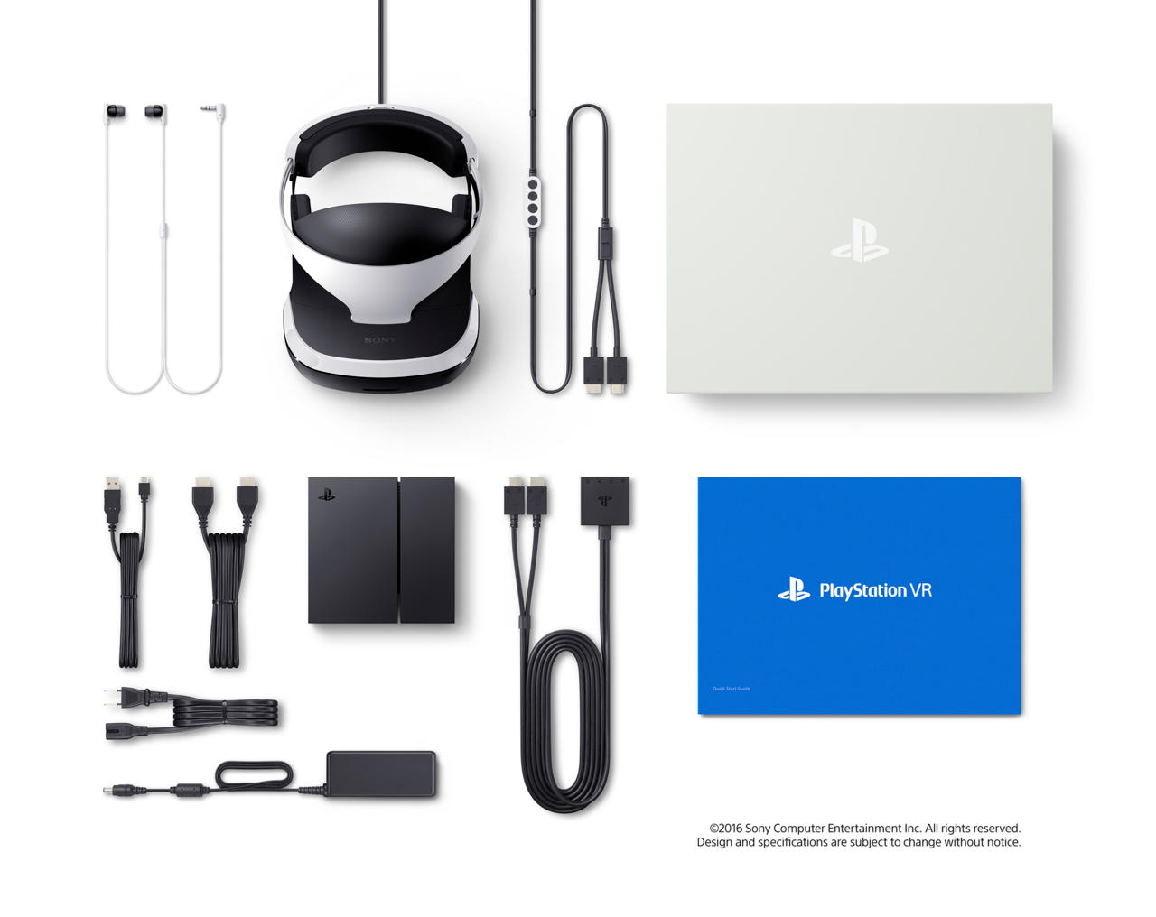 This is what the $400 PlayStation VR package comes with.