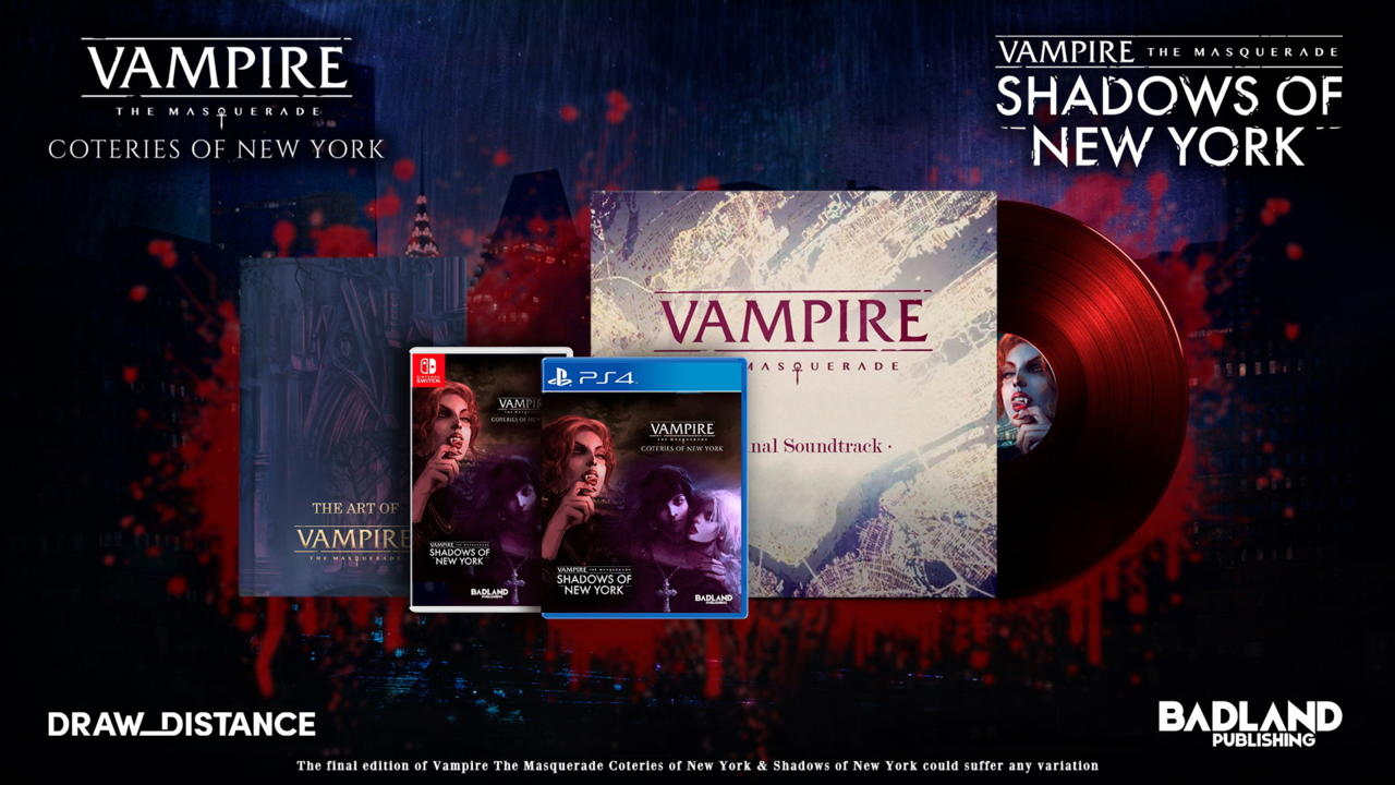 Vampire: The Masquerade Coteries of New York and Shadows of New York