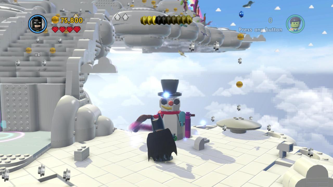 We meet during dark times, Mr. Snowman. I'm Batman!