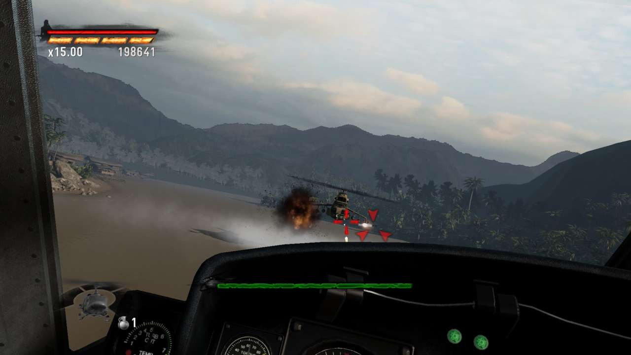 Dogfighting with helicopters doesn't sound safe.