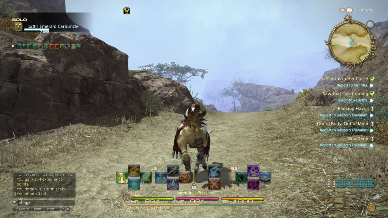 When the epic music plays when you mount a chocobo, it's hard not to smile.