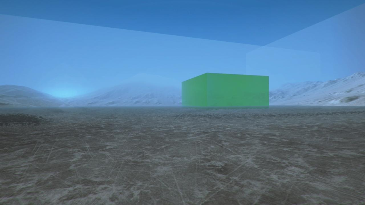 Even pilots can't escape the evils of lime Jell-O. Here, you see the results of trying to restart a level.