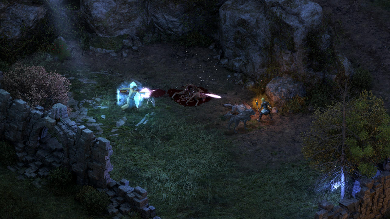 In Pillars of Eternity, wolves are only the beginning.