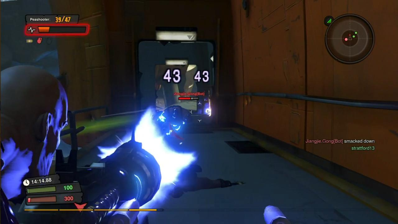 Bots can be a great part of any multiplayer shooter, but their rarity in the genre makes them a pleasant delight in Loadout.