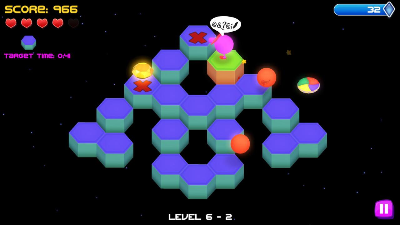 Q*Bert speaks for all Rebooted players.