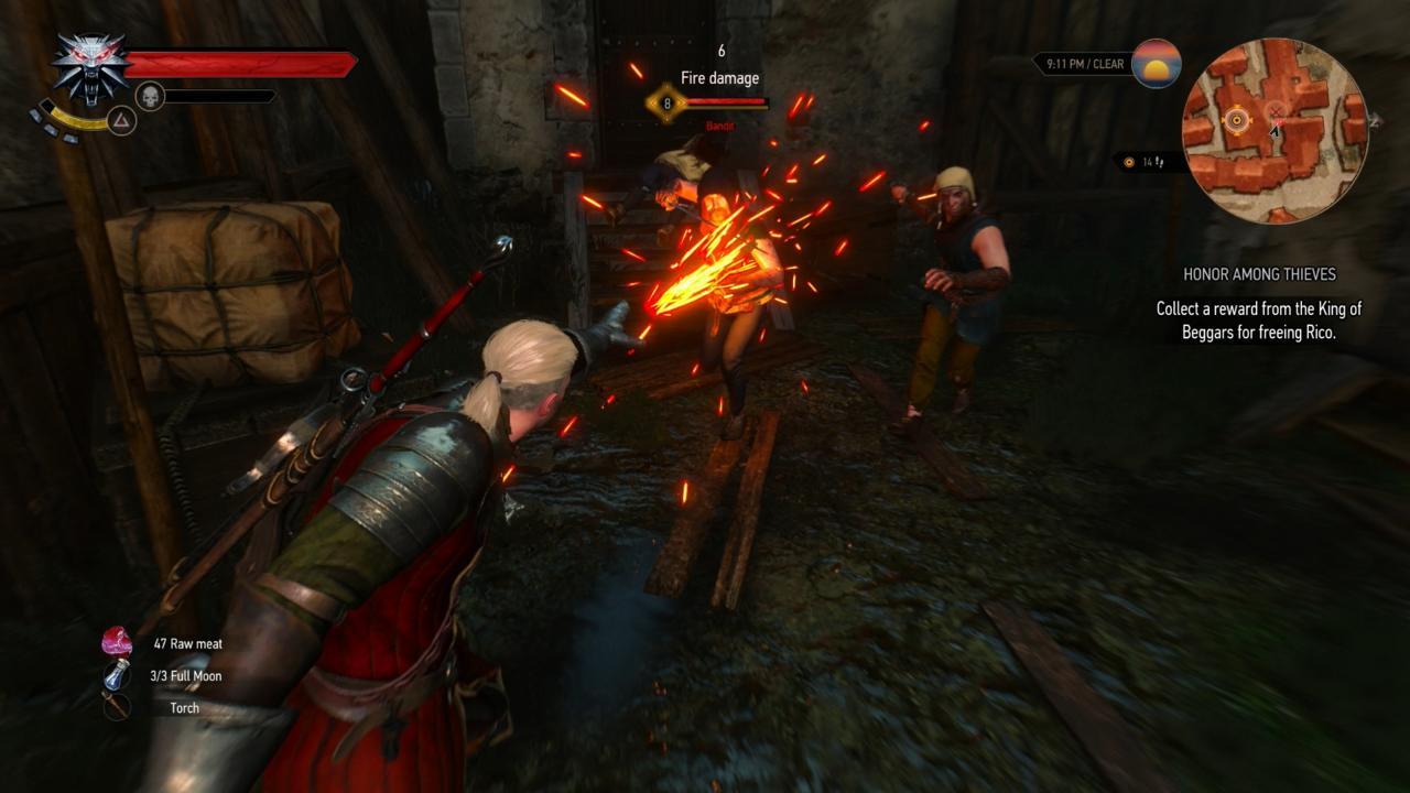 Burn, bandits, burn!