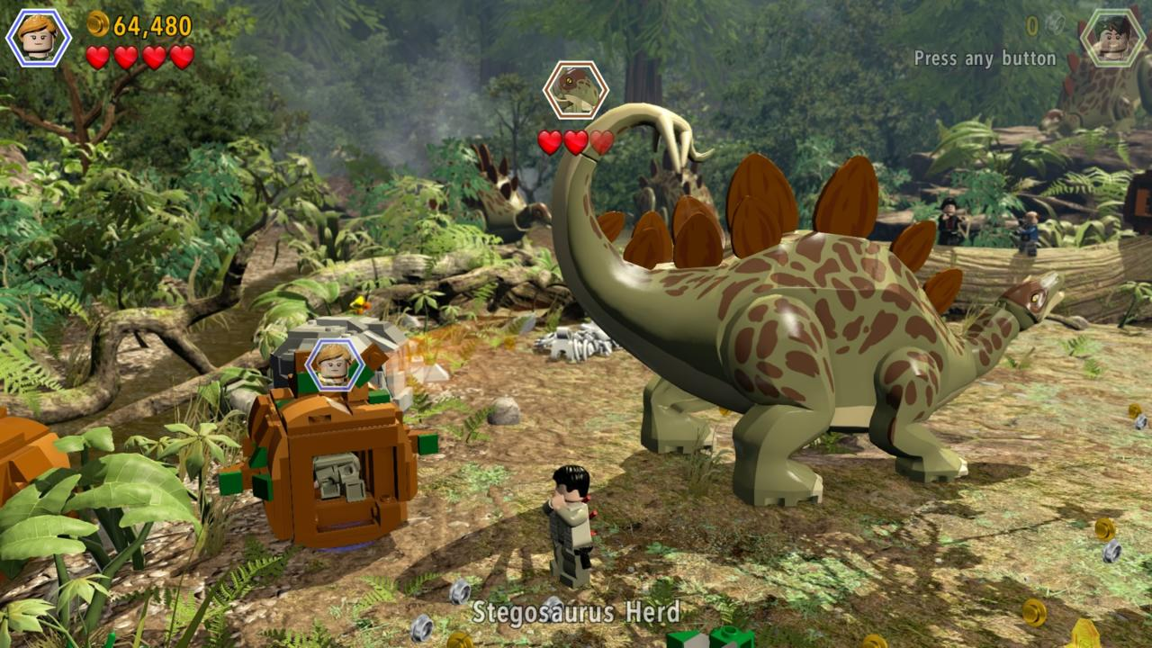 Several boss fights pit you against some of the larger dinos, but they play out the same as the regular levels.