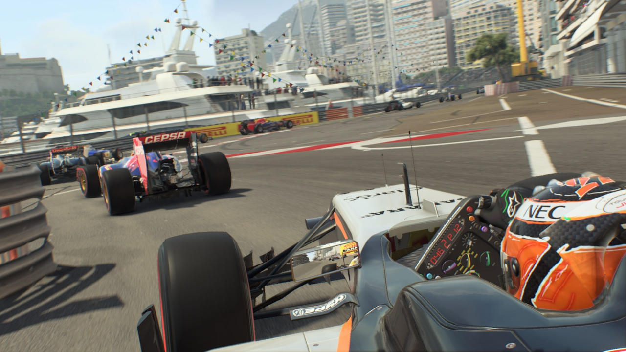Pictured: F1 2015