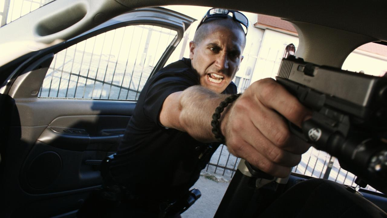 Pictured: Gyllenhaal in End of Watch
