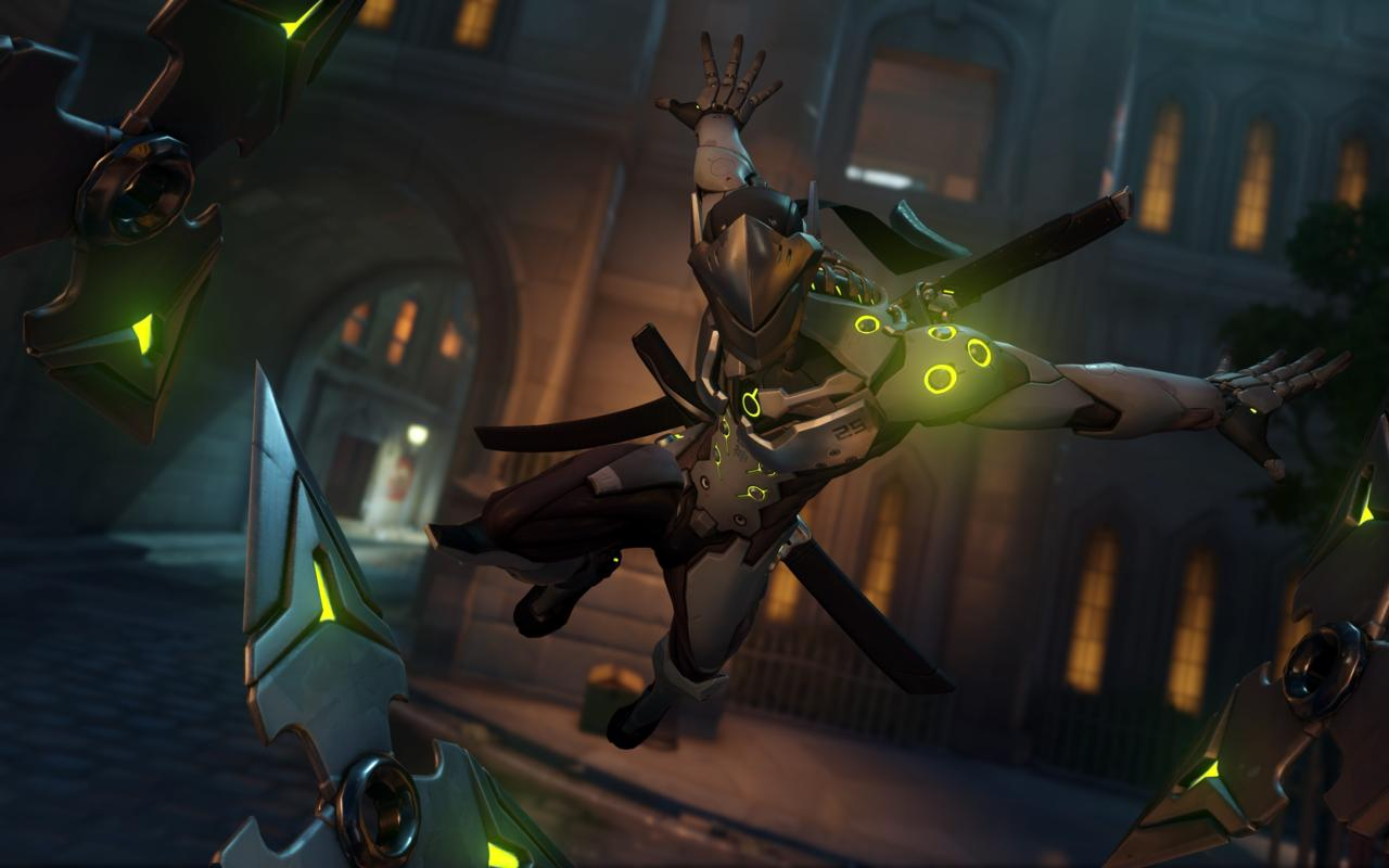 Genji here. Genji is with you... forever