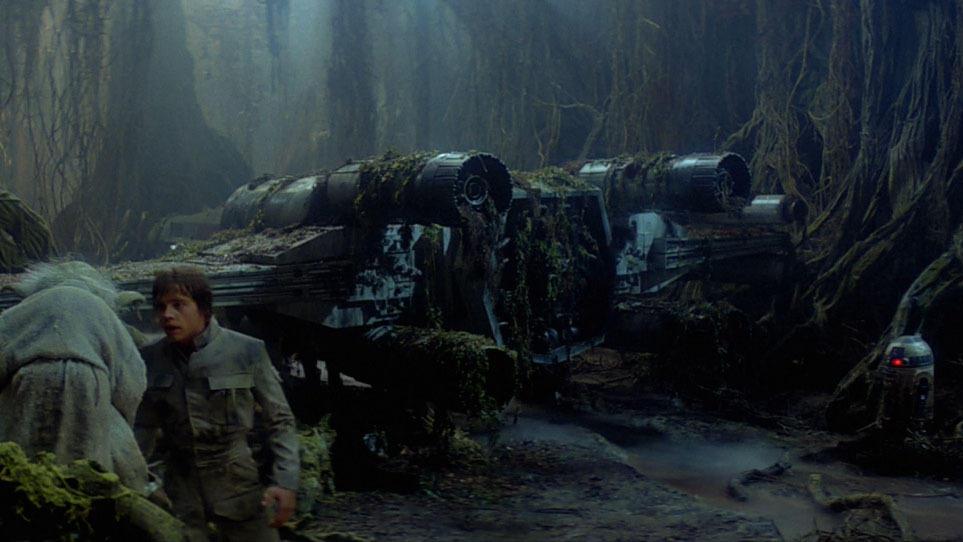 15. Luke's X-Wing