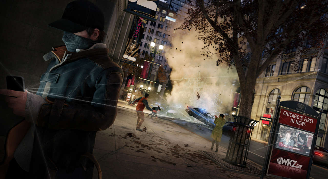 Hello? Yes, this is Watch Dogs.