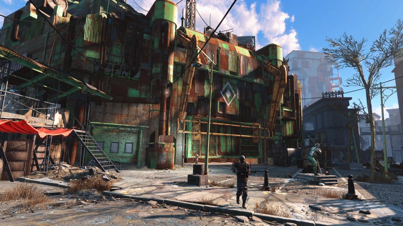 Fallout 4's post-apocalyptic Fenway Park