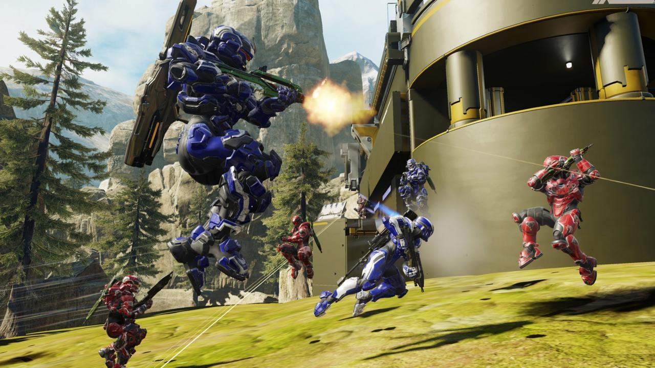 Uma cena de Halo 5