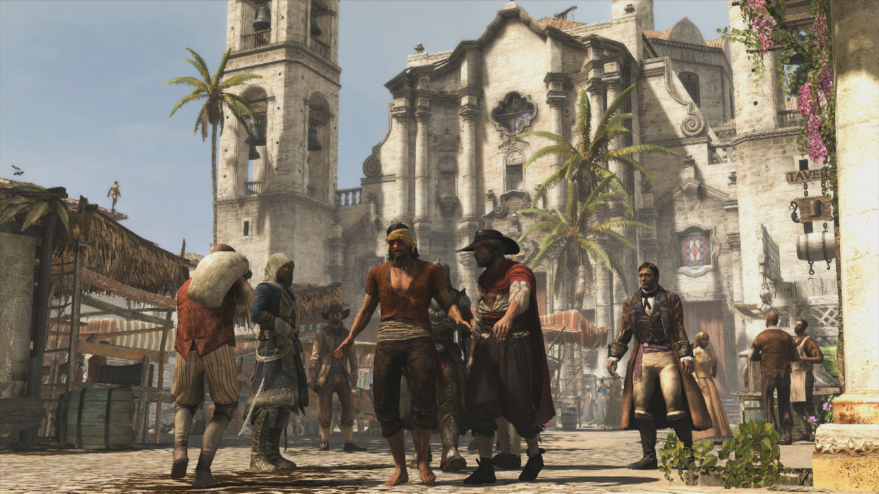 Cities like Havana echo the classic environments of previous games.