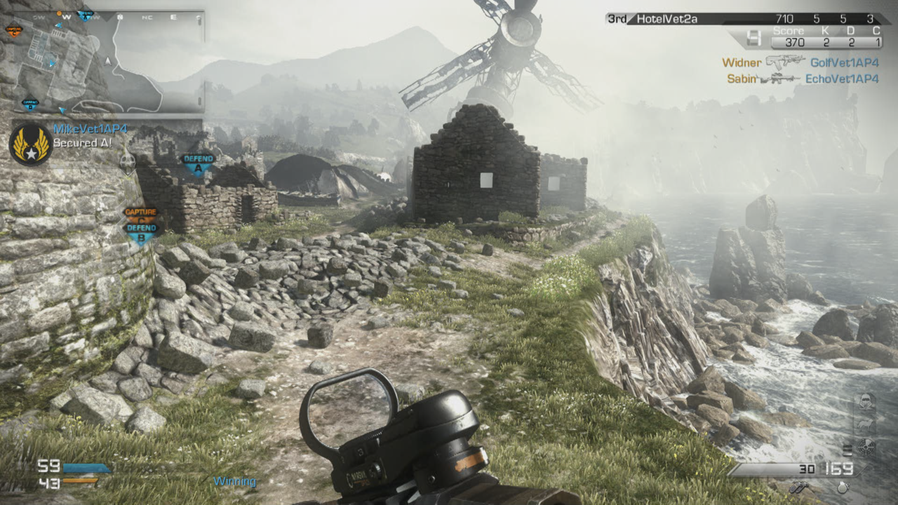 Multiplayer maps have you fighting everywhere from Scottish castles to Alaskan fishing villages.
