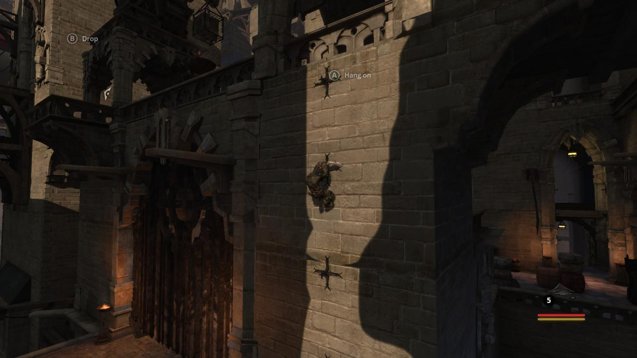 Styx's environments range from library, to prison to, yes, even castle!
