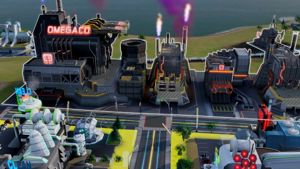OmegaCo revolutionizes your industries and then your entire cities in a vaguely ominous way.