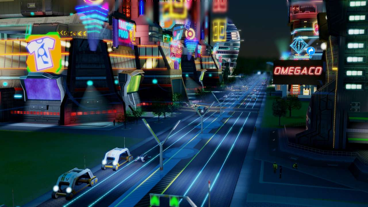 Apparently, cities in the future will be modeled on the Steelport of Saints Row IV.
