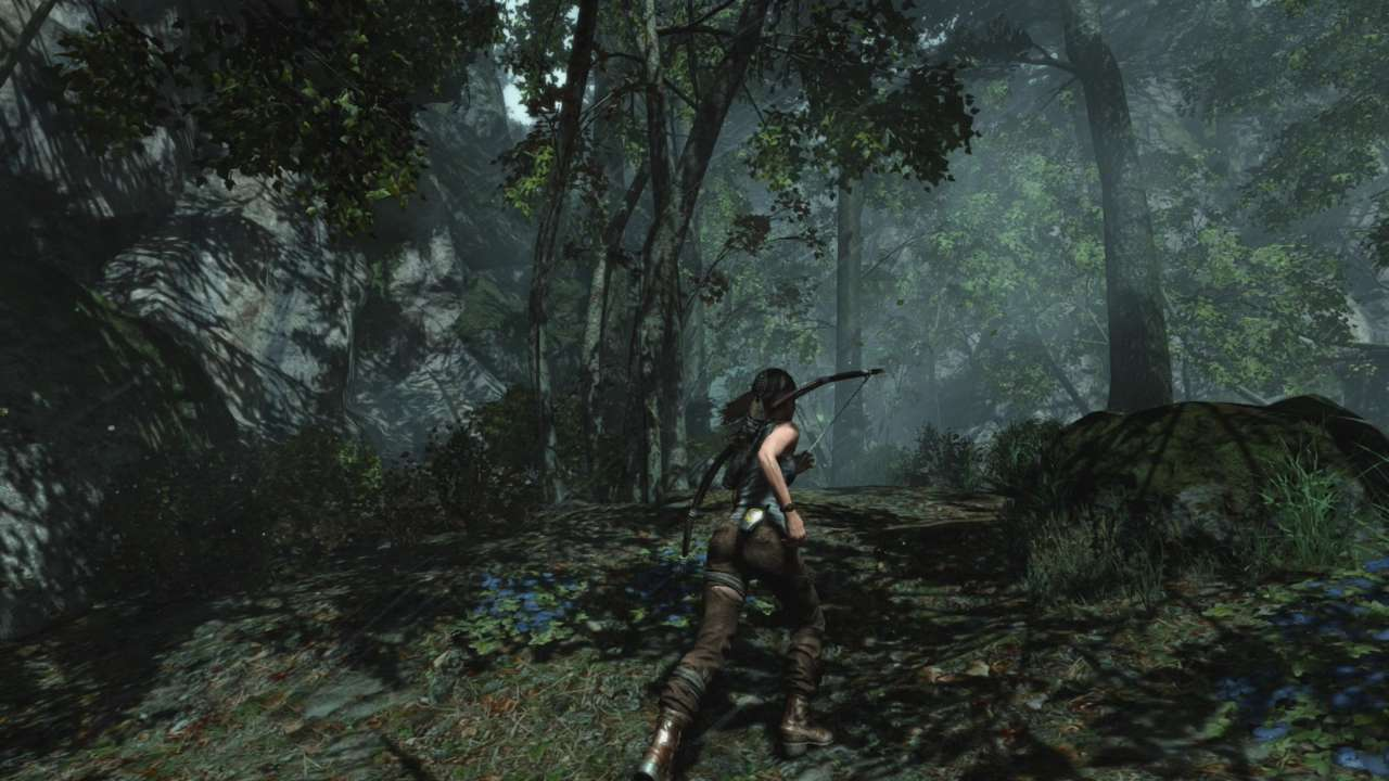 Come on, Lara, stop and smell the trees and worry about surviving later.