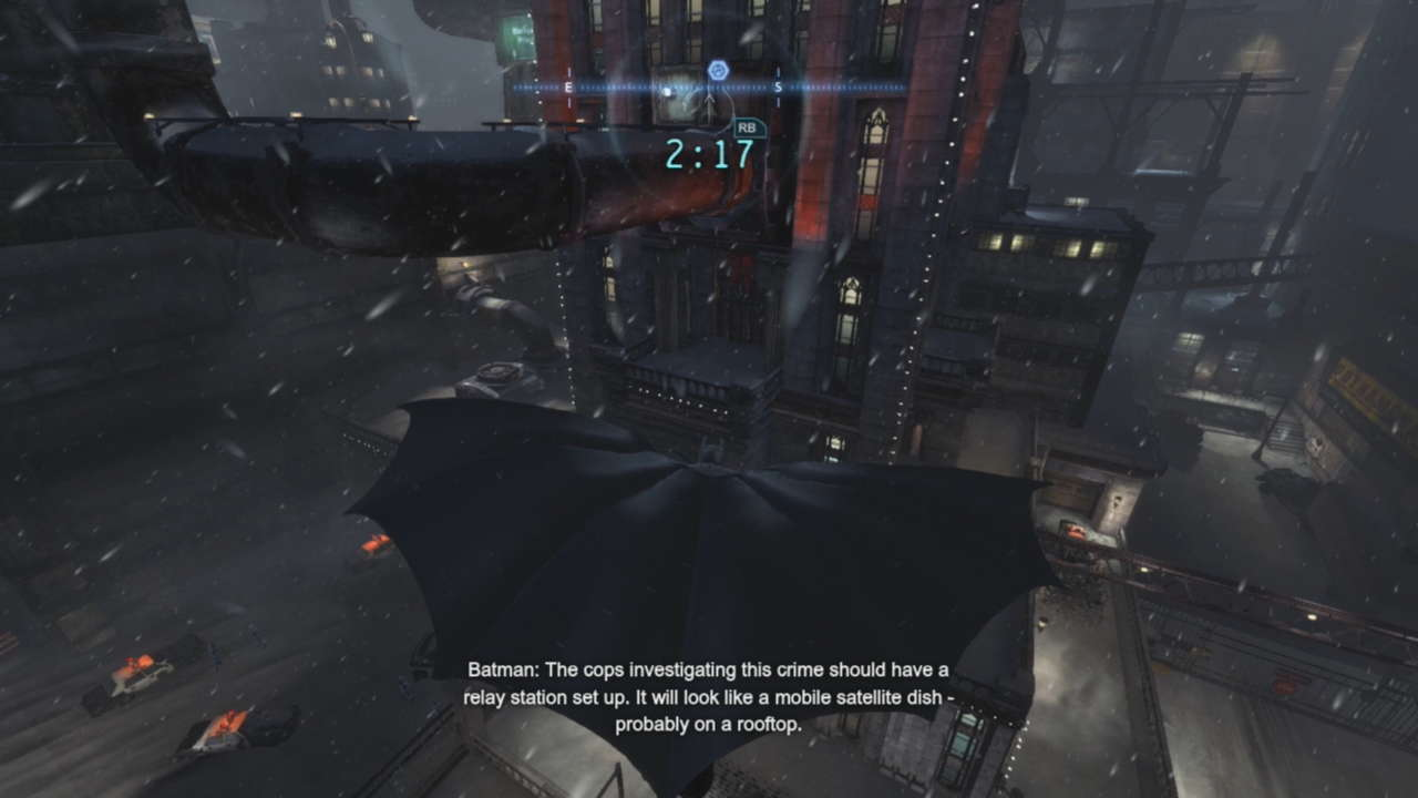 The world of Arkham Origins is bigger, but in this case, that doesn't translate to better.