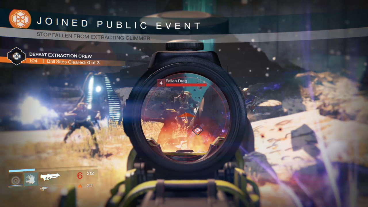 Public events will give you the option of cooperating with other nearby players in the world, but Bungie wants to make sure those other players can't ruin your experience.