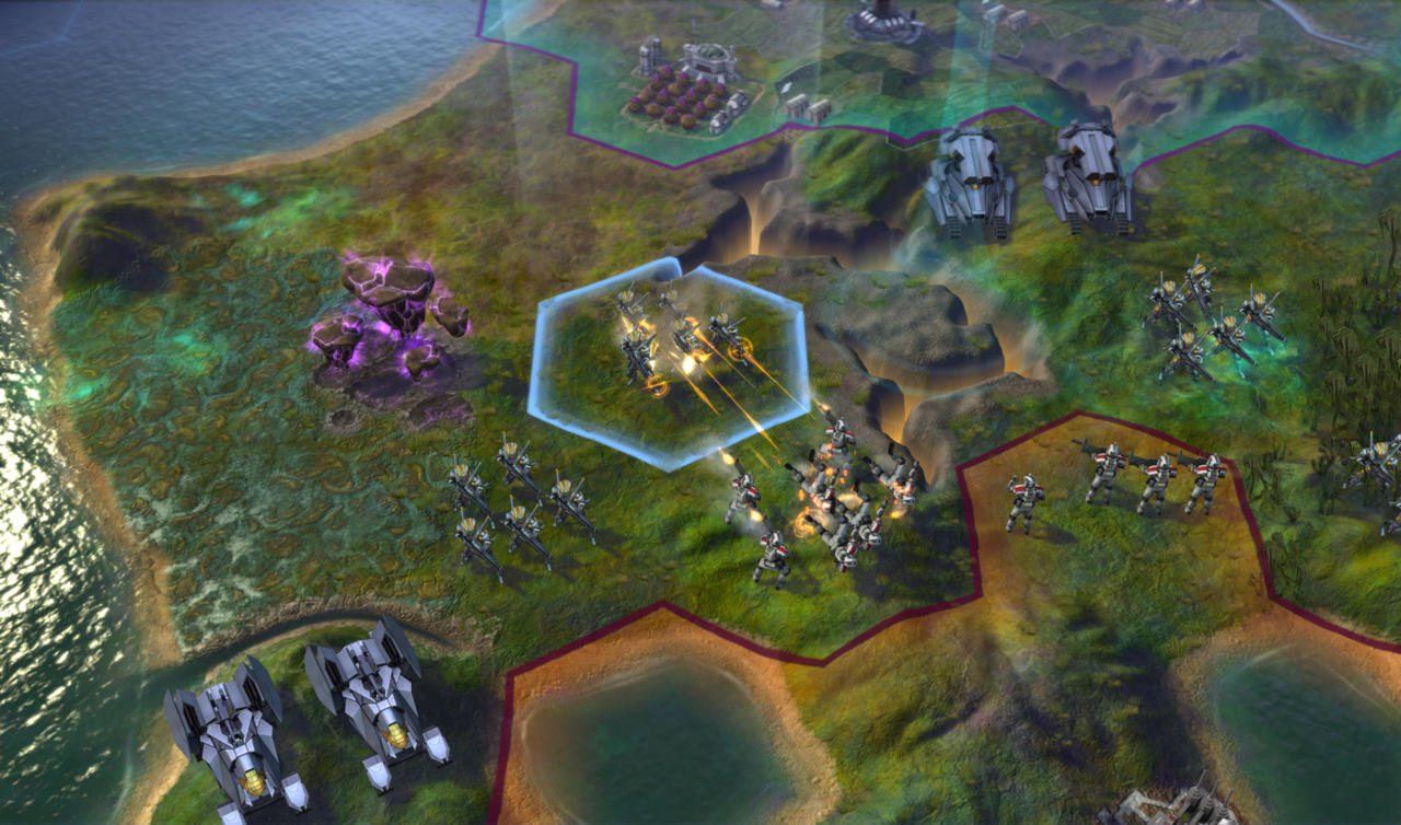 Open warfare is always an option, but Beyond Earth has some more subtle ways to harass your opponents as well.