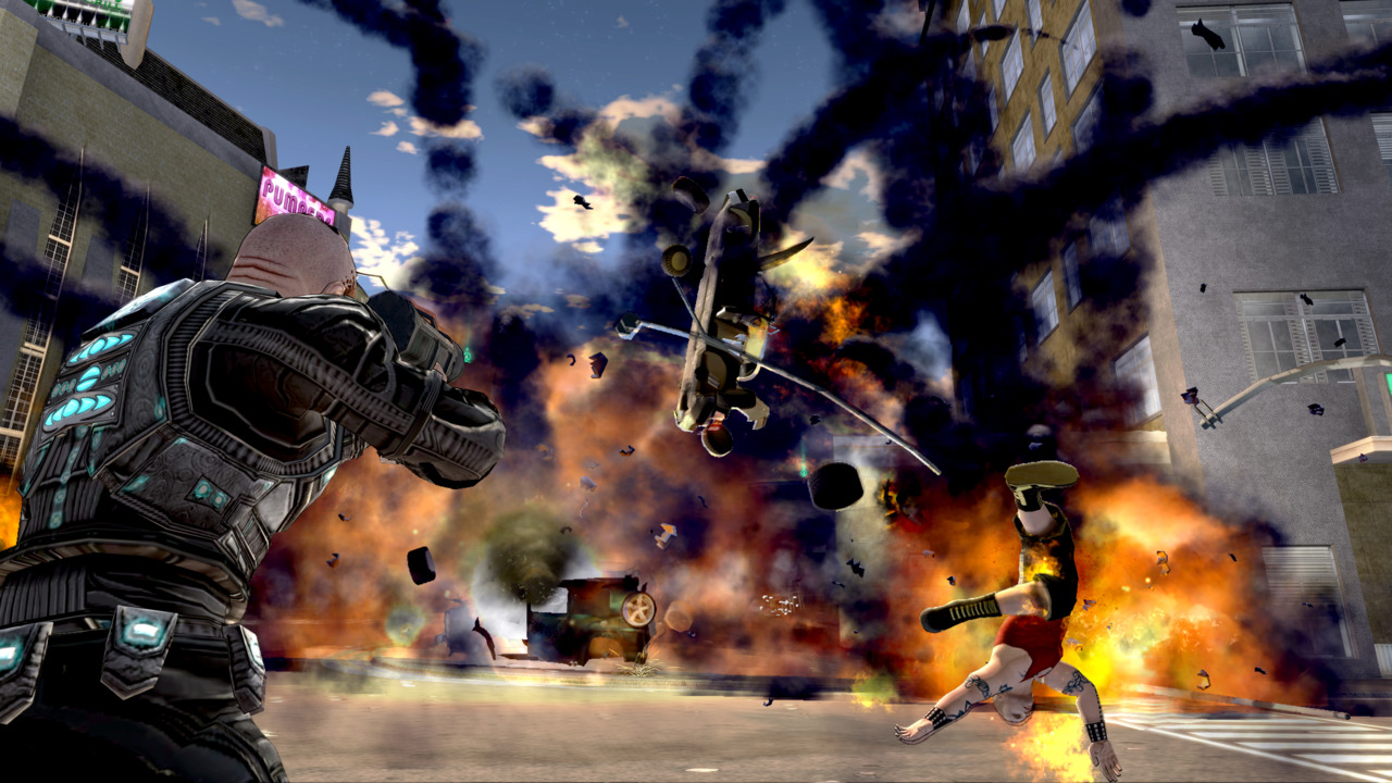 One of the original creators of Grand Theft Auto is working on an explosive new game for the Xbox 360.
