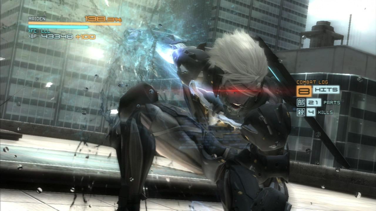 Raiden unleashes his true nature.