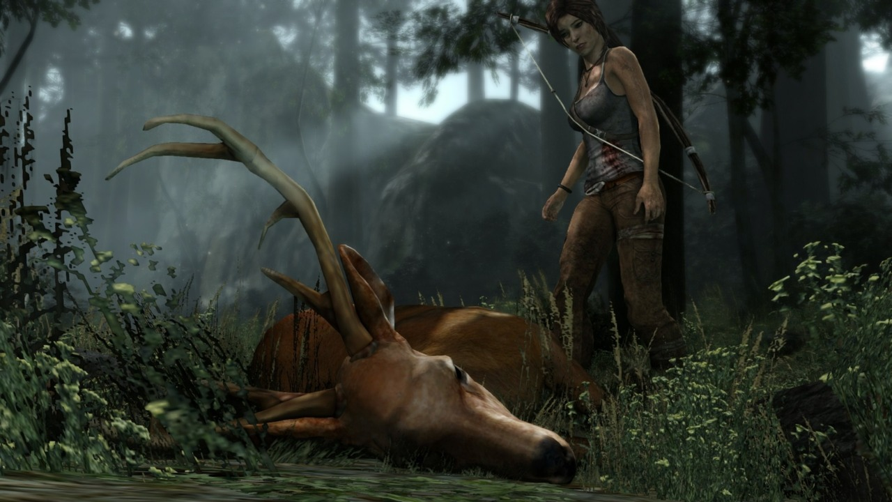 You'd better get used to killing fast, Lara. You're gonna be doing a lot of it.