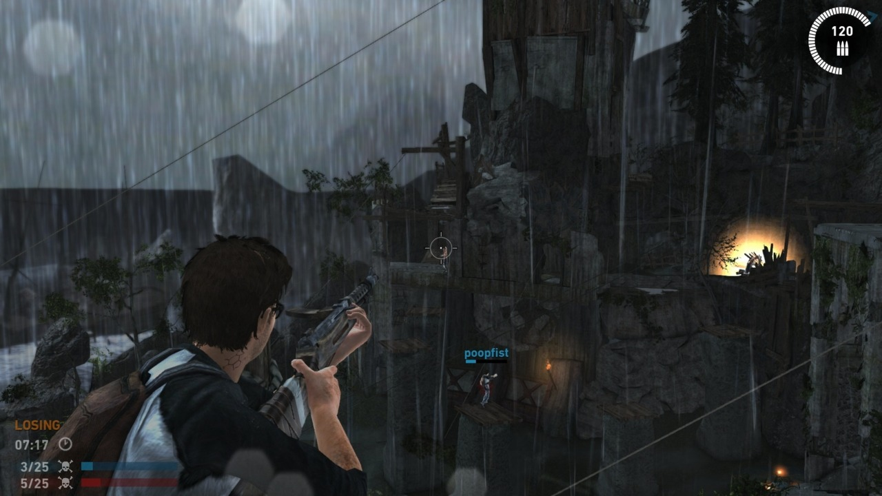 Tomb Raider's multiplayer functions just fine, but it's nothing special.