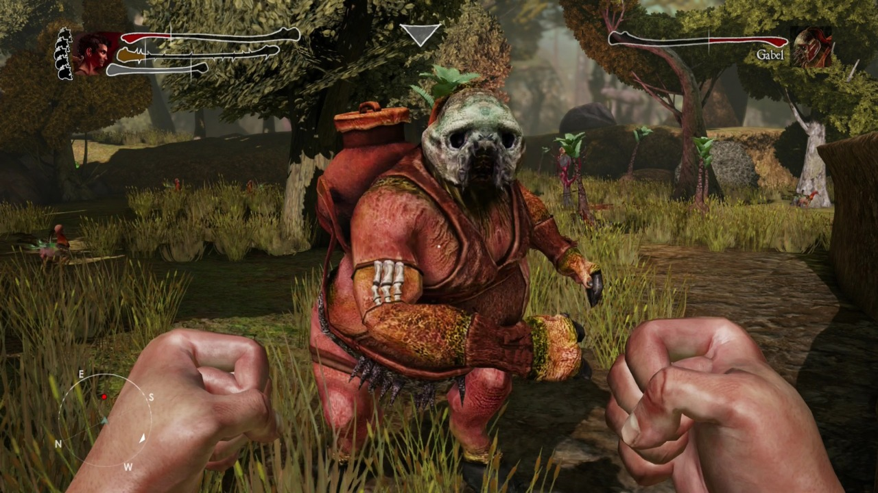 Zeno Clash II's collection of surreal art and creepy enemy monstrosities means you will never confuse it with any other game.