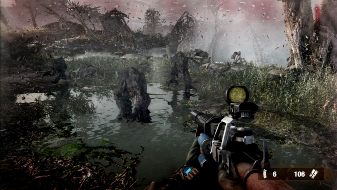 Your nightmares come to life in Metro: Last Light.