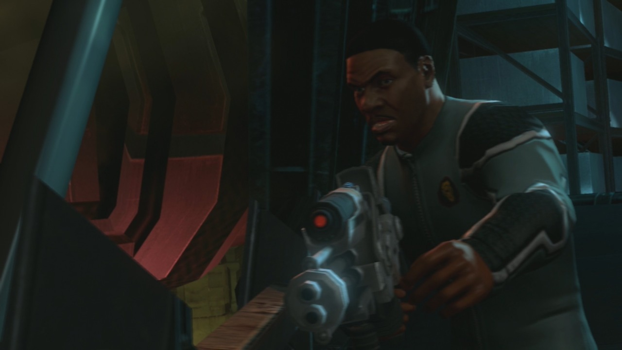 Keith David is very convincing in the role of Vice President Keith David.