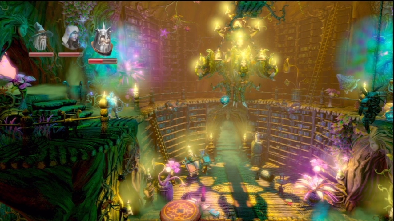 Trine 2's dazzling locations will cast a spell on you.