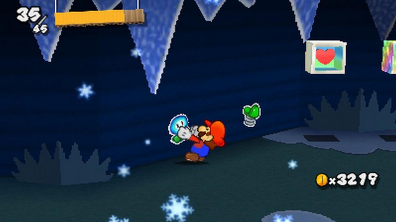 Peel, Mario! Peel like you've never peeled before!