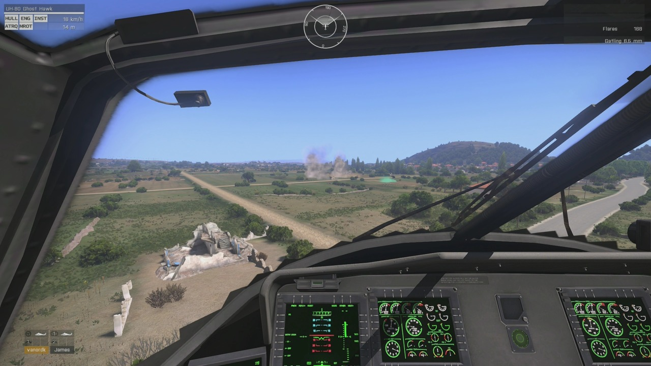 Test your piloting skills and try landing without employing autohover. Good luck!