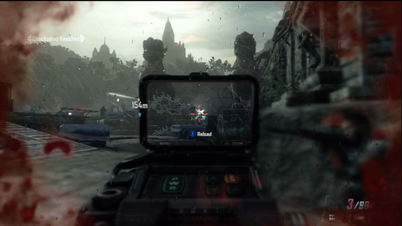 The millimeter scanner sight comes in handy for spotting cloaked enemies.