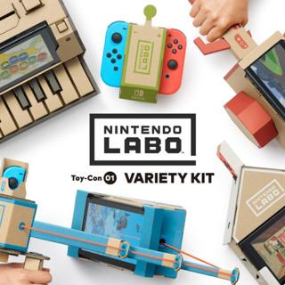 Nintendo Labo: Toycon 01 Variety Kit