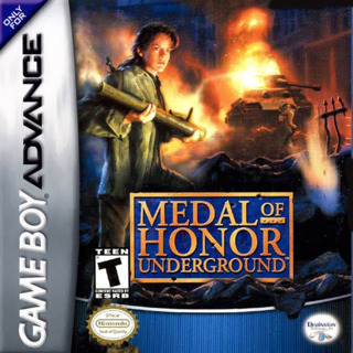 Medal of Honor Underground