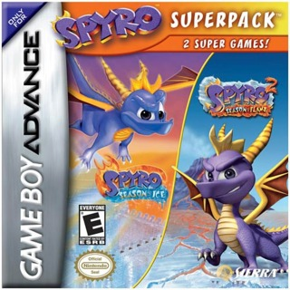 Spyro Superpack: Spyro: Season of Ice / Spyro 2: Season of Flame