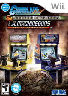 Gunblade NY & L.A. Machineguns Arcade Hits Pack