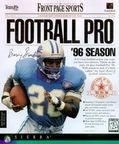 Front Page Sports: Football Pro '96