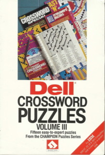 Dell Crossword Puzzles Volume III