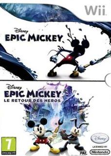 Disney Epic Mickey & Disney Epic Mickey 2: The Power of Two