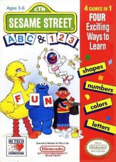 Sesame Street: ABC & 123