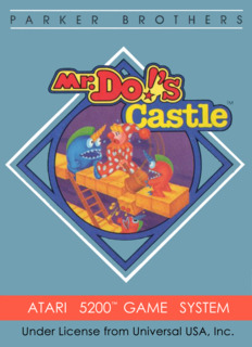 Mr. Do!'s Castle
