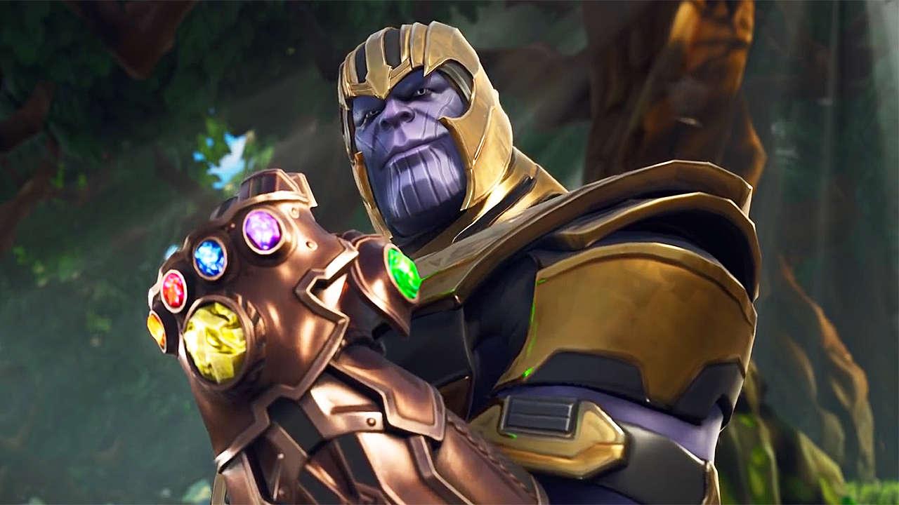 Fortnite Thanos Modes Thanos Comes To New Fortnite Mode Gets Nerfed Immediately Gamespot