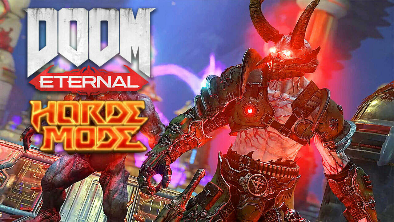 DOOM Eternal Horde Mode Official Trailer